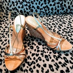 Jessica Simpson, Women T-Strap Bow Style Wedge